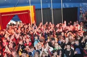 Schulfest der Grundschule Bleialf-Auw am 24. und 25. März 2017 mit dem Circus Zapp Zarap
